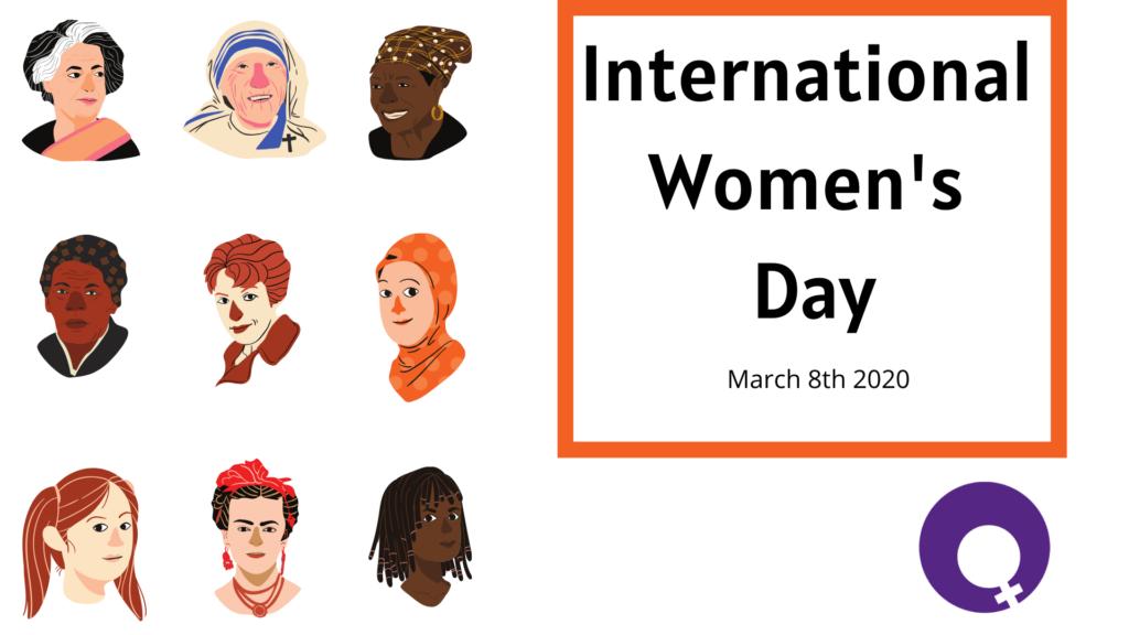 International Women's Day graphic